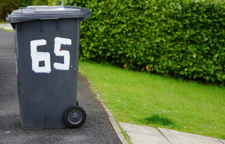 A bin out for collection in Preston Pic: Christopher Lucas