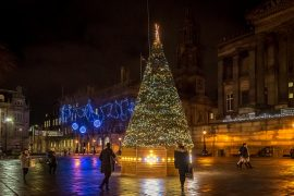 The Christmas Tree in the Flag Market Pic: Keith Sergeant