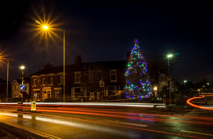Christmas tree in Middleforth Pic: Keith Sergeant