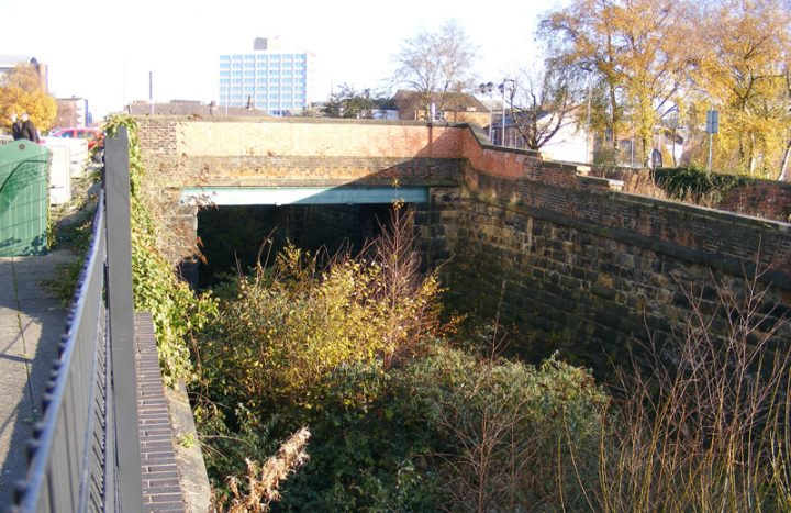 Remains of the railway line can be seen scattered around the city Pic: Geoff Whittaker