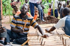 Many traditional instruments have been recorded for the first time by Global Sound Movement
