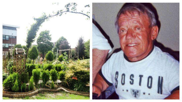 Jam's garden and Kenny Baker