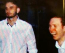 Police want to speak to the two men pictured