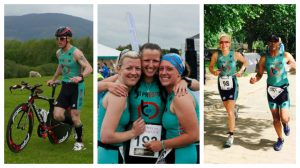 Some of the Preston triathletes in action