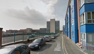 Warwick Street where the incident happened Pic: Google