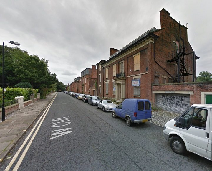 The building in West Cliff has stood empty for years Pic: Google