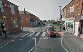 The zebra crossing in Ribbleton Lane where the incident happened Pic: Google