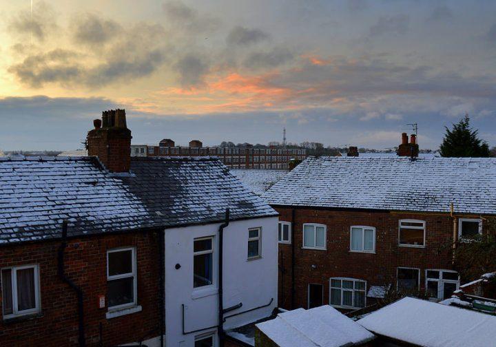 A cold morning in Preston Pic: Tony Worrall