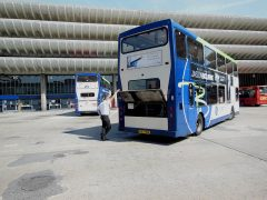 The number 8 is one of the services affected Pic: 70023venus2009