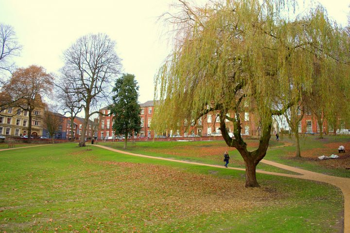 The Winckley Square Gardens since their restoration Pic: Tony Worrall