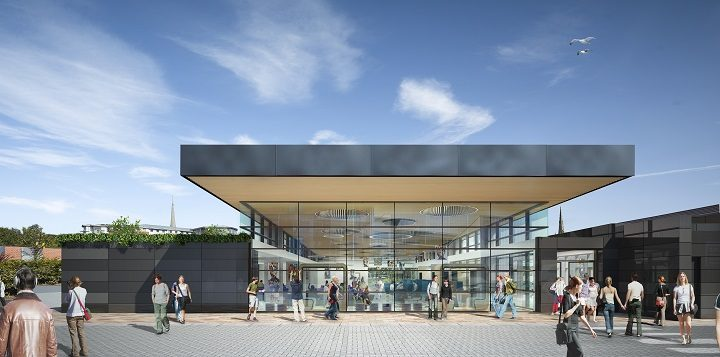 How one of the new extensions to the UCLan campus will look - this is Foster building