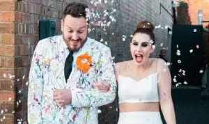 A couple tie the knot on the show