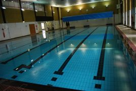 Fulwood leisure centre's swimming pool