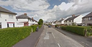 Malvern Avenue where the incident happened Pic: Google