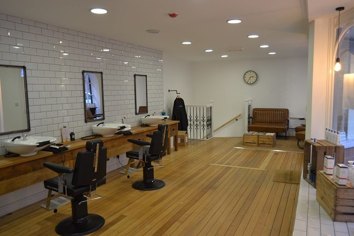 Inside the new salon