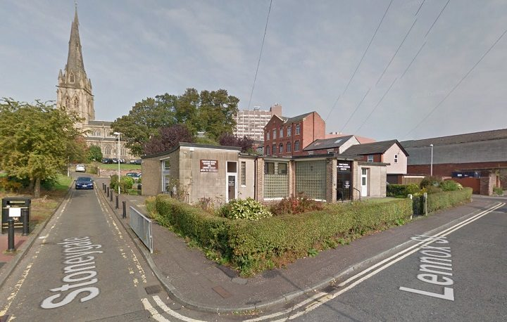 The church is behind Preston Minster in Stoneygate Pic: Google