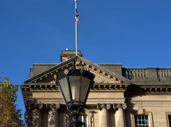 Part of Preston Town Hall Pic: Tony Worrall