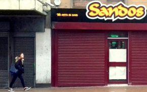 The new Sandos in Church Street Pic: Tony Worrall