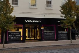 The Ann Summers store in Preston