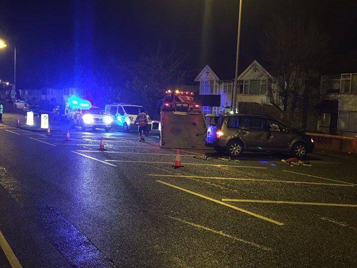 Car Overturned In Blackpool Road Crash Blog Preston