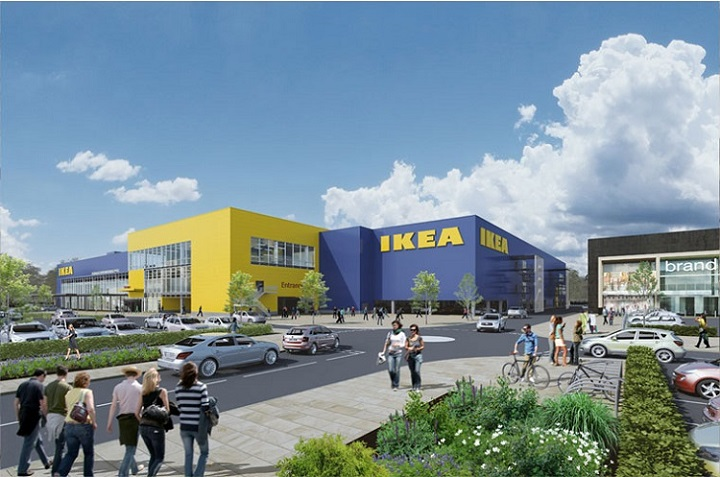How the IKEA store at Cuerden may look