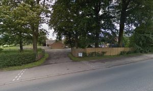 The current access road into Keyfold Farm Pic: Google