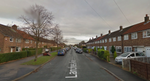 Larches Avenue is closed for resurfacing work for around a week