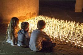 The vigil takes place during Monday evening Pic: Preston Pals