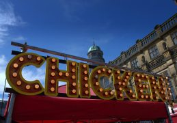 Food festival at Stonyhurst College Pic: Tony Worrall