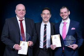 Steve Heaps, Dr Adrian Ibbetson, Head of School – Sport and Wellbeing, Ben Ashworth