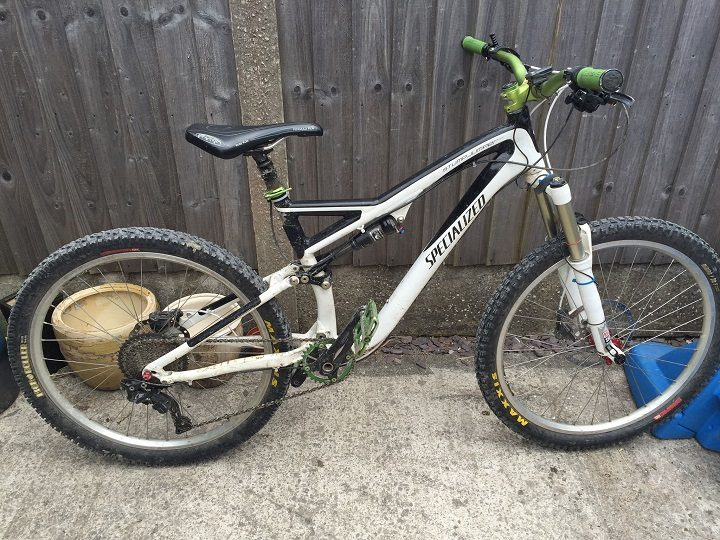 One of the bikes taken from Fulwood
