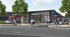 The Costa will include a drive-through