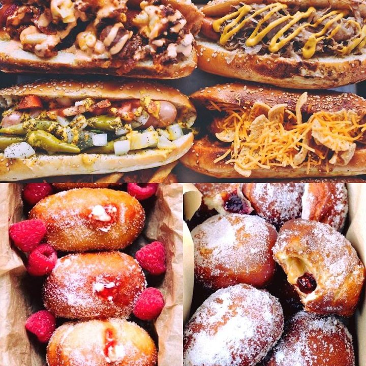 Savoury and sweet on offer at Dogs n Doughnuts