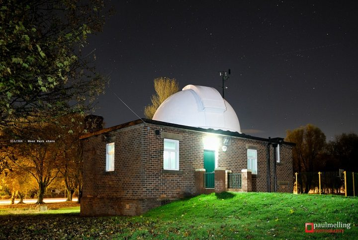 The observatory in Moor Park is operated by UCLan Pic: Paul Melling