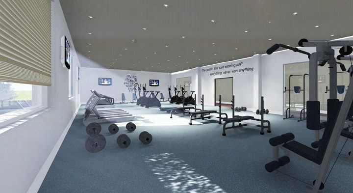 Where the players will pump iron