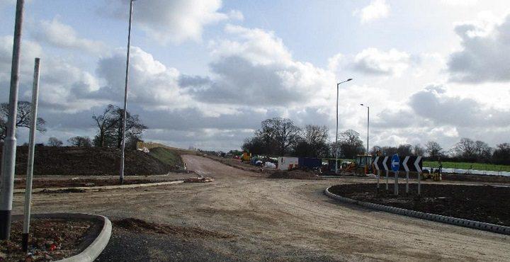 Whittingham Lane roundabout