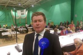Damien Moore stands again in Southport
