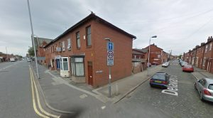 Junction of Delaware Street and New Hall Lane Pic: Google