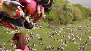 We should see a fair bit of sunshine for the Egg Rolling Pic: Proud Prestonian