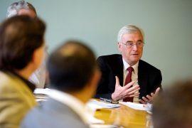 John McDonnell speaking at UCLan