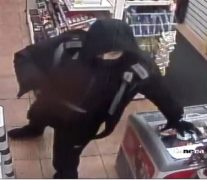 Police have released a CCTV picture of a man following the incident
