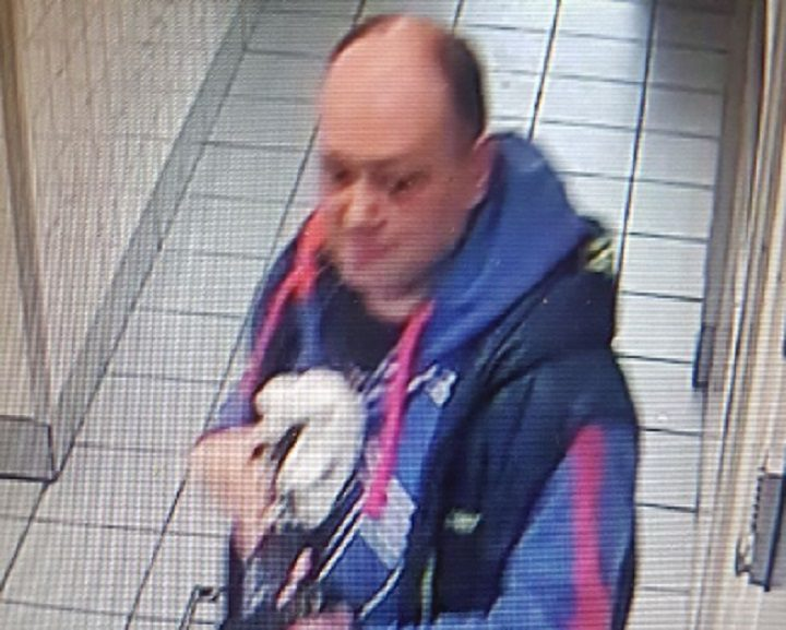 A man's picture has been released by police in connection with the incident