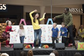Rebecca and Sid from Cbeebies It's Time to Play