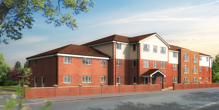 How the new care home may look