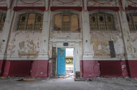 If only walls could speak. Inside the former Whittingham mental hospital. Pic: scrappynw
