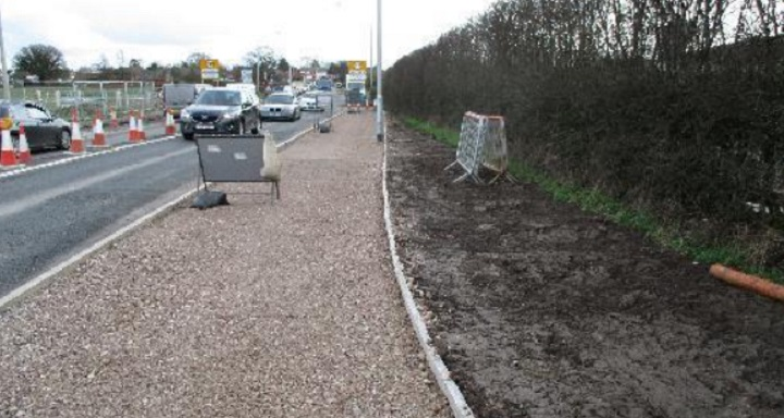 Work continues on the Broughton Bypass