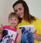 Lynsey Cotton and her daughter Katie