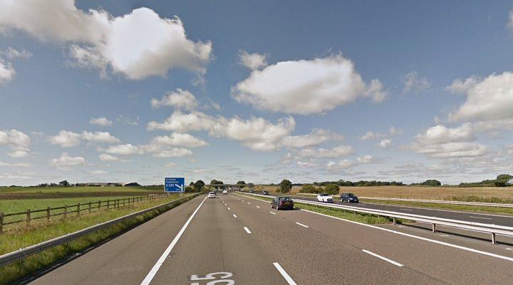 Heading towards Junction 3 on the M55 where the crash took place Pic: Google