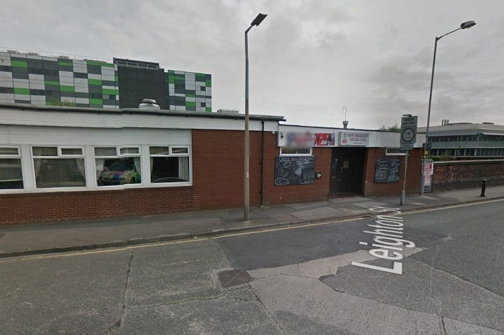 The former social club has stood empty for nearly three years Pic: Google