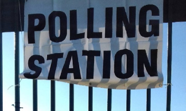 Polling station in College ward
